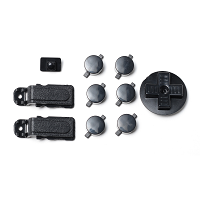 PiBoy DMG Button, D-pad and Power Switch Kit - Black