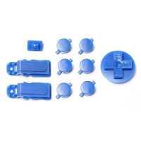 PiBoy DMG Button, D-pad and Power Switch Kit - Blue