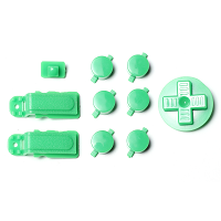PiBoy DMG Button, D-pad and Power Switch Kit - Green