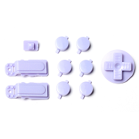 PiBoy DMG Button, D-pad and Power Switch Kit - Violet