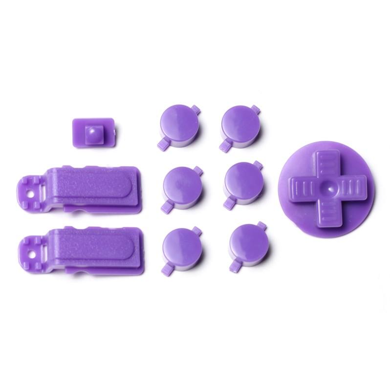 PiBoy DMG Button, D-pad and Power Switch Kit - Purple